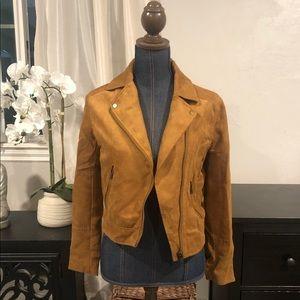 Camel Moto jacket NWT
